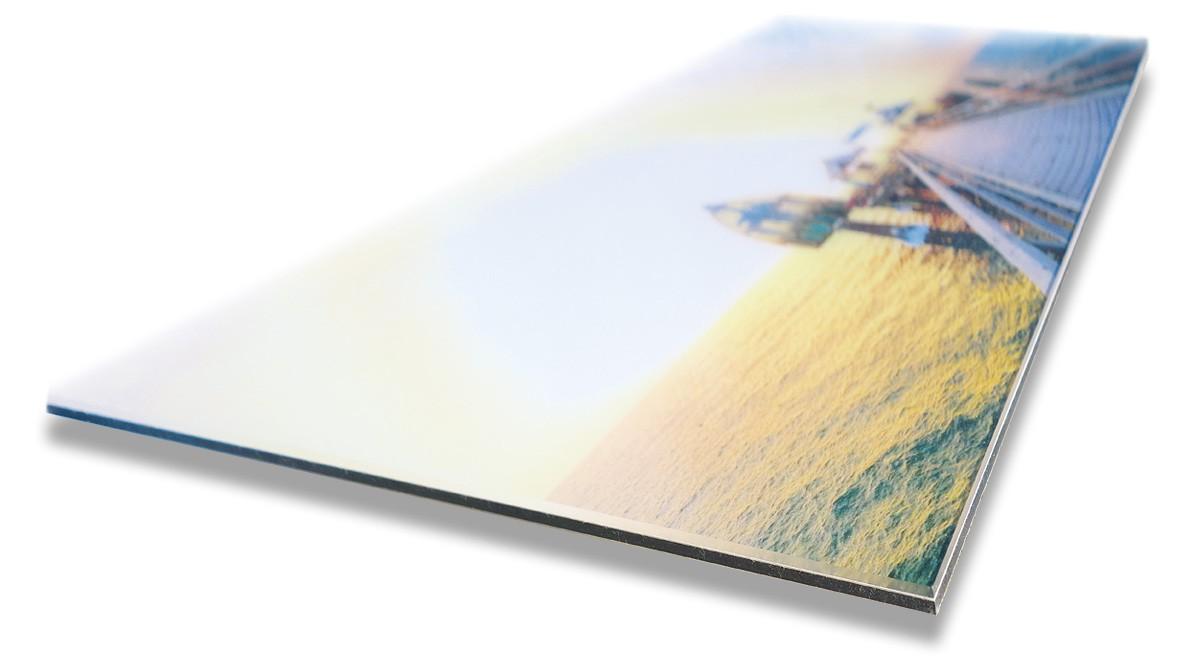 """Grömitz Bilder hinter Glas - Motiv """"Seebrücke"""", laserbelichtet auf Spezialpapier der Profi-Fotografen"""