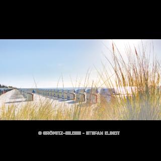 Morgenappel der Strandkörbe östlich der Seebrücke