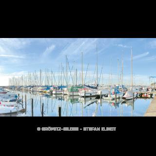 Grömitzer Yachthafen in morgentlicher Ruhe