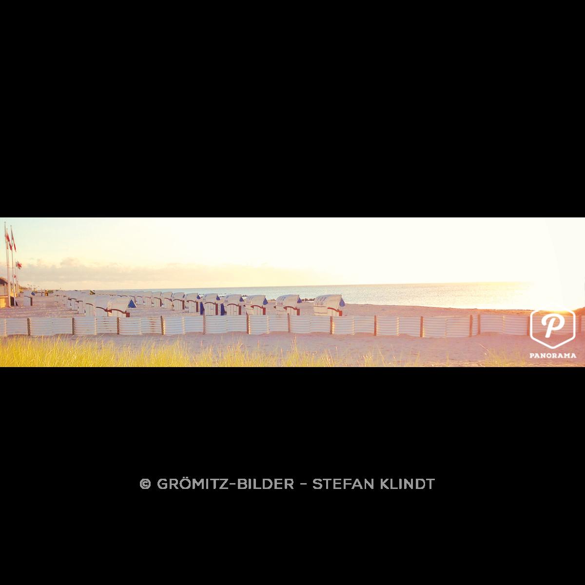P093 Grömitz Bilder - Tagesanbruch am nordöstlichen Strand