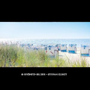 055 Strandkörbe am Morgen