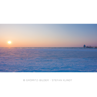 020 Grömitz Bilder - Zugefrorene Ostsee