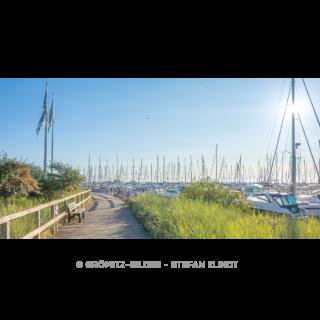 033 Grömitz Bilder - Yachthafenpromenade