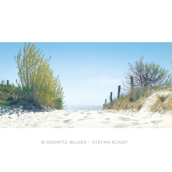 042 Grömitz Bilder - Strandzugang Lensterstrand