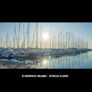 043 Grömitz Bilder - Morgensonne im Yachthafen