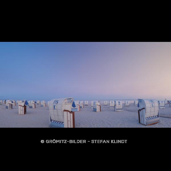 047 Grömitz Bilder - Blaue Stunde zwischen Seebrücke und Yachhafen