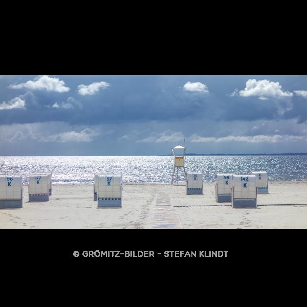 104 Grömitz Bilder - Passierende Gewitterwolken