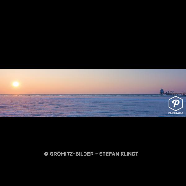 P020 Grömitz Bilder - Zugefrorene Ostsee