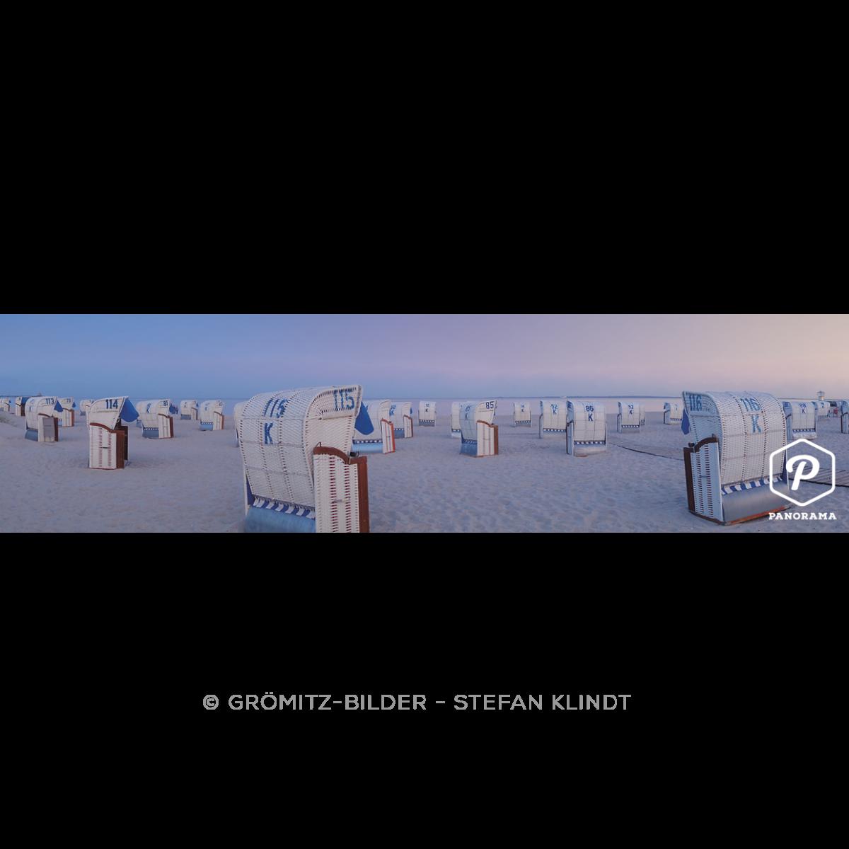 P047 Grömitz Bilder - Blaue Stunde zwischen Seebrücke und Yachthafen