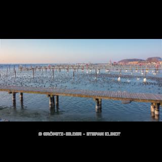 012 Grömitz Bilder - Wintermorgen im Hafen