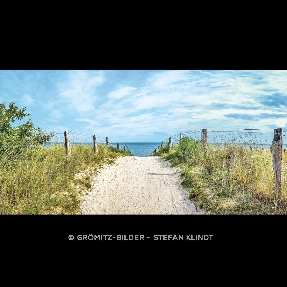 041 Grömitz Bilder - Strandzugang Lensterstrand
