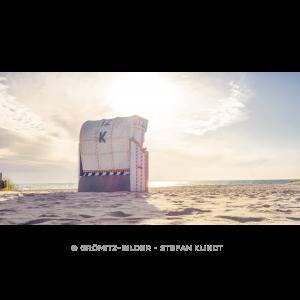 091 Grömitz Bilder - Einer der letzten Strandkörbe