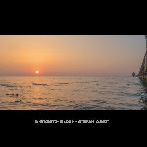 114 Grömitz Bilder - Sonnenaufgang im Spätherbst