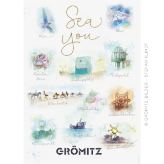 "Grömitz-Fanposter ""SEA YOU"""