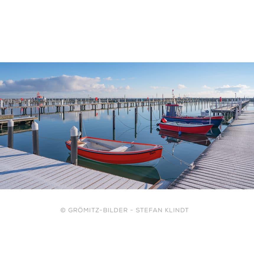0221 Grömitz Bilder - Yachthafen im Winterschlaf