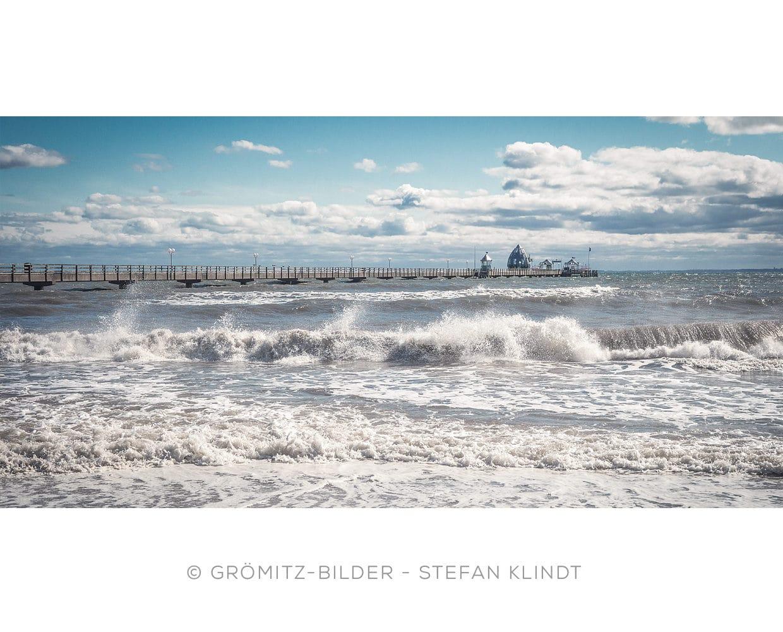 0321 Grömitz Bilder - Sturm aus Nordost