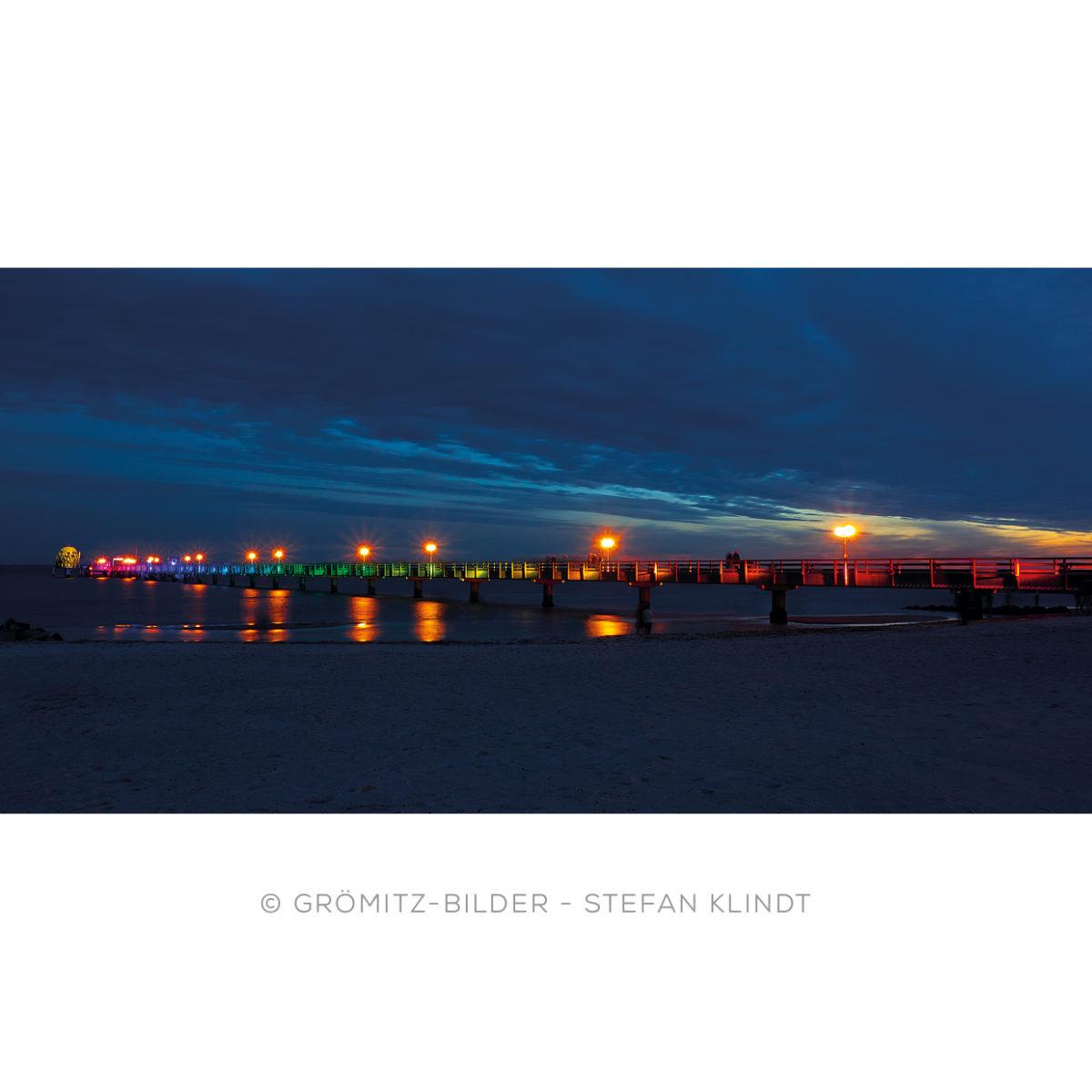 1021 Grömitz Bilder - Lichtermeer-Seebrücke